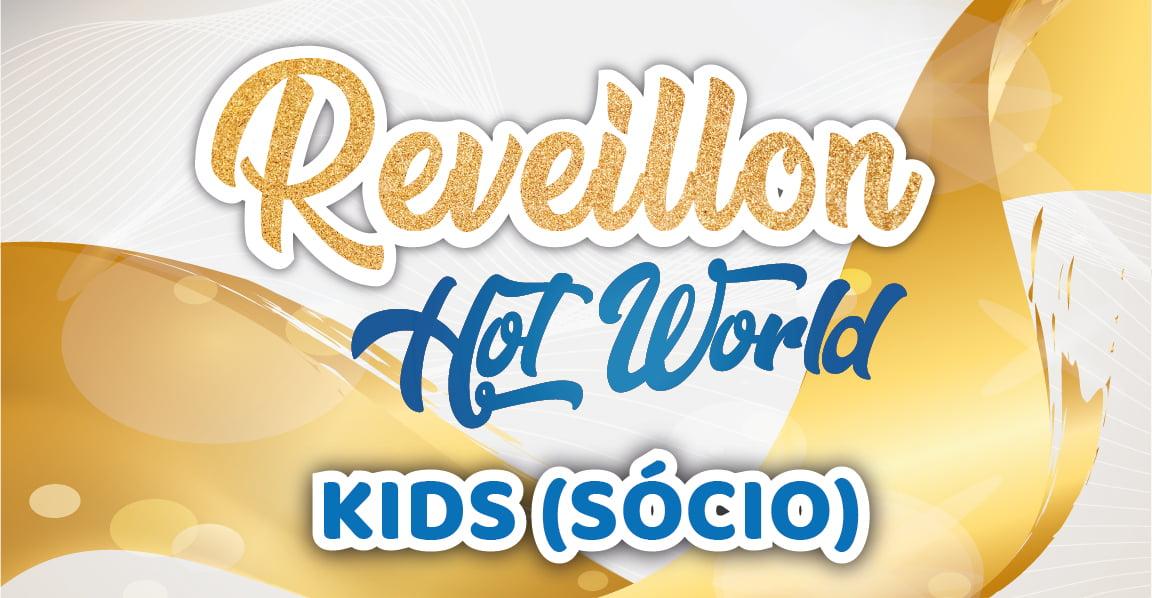 SÓCIO REVEILLON KIDS (DE 1 A 5 ANOS)