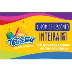 INTEIRO (A PARTIR DE 12 ANOS) - OBRIGATÓRIO A APRESENTAÇÃO DO CUPOM DE DESCONTO NO DIA DO PASSEIO